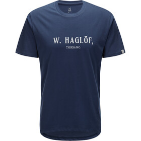 Haglöfs Camp Tee Herre Tarn Blue/Rock